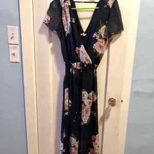 Maurices full length dress
